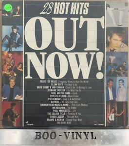OUT NOW !!  28 HOT HITS  VARIOUS ARTISTS DOUBLE LP VINYL FREE UK P & P EX CON