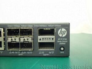 HP JG894-61101 5700-48G-4XG-2QSFP+ Switch JG894A