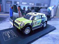 MINI All 4 BMW Raid Dakar 2013 #302 Peterhansel Monster Winner IXO DCC 1:43