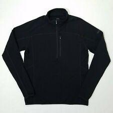 Qor 1/2 Zip Polartec Long-Sleeve Black Pullover size Xl