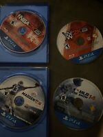 ps4 video games used lot