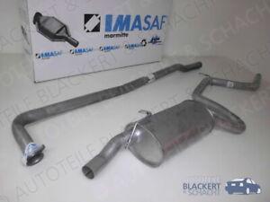 IMASAF Auspuffanlage komplett für Ford Escort IV 1.6 RS Turbo 1986-1988