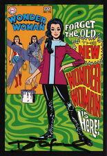 Art of DC Comics SIGNED Post Card ~ Denny O'Neil Wonder Woman #178