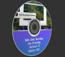 Video Game Recording Live Streaming Open Broadcaster Software PC Windows Mac