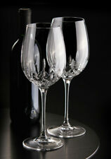 """*NEW* Waterford """"Lismore Essence"""" Goblet Pair - Set of 2 - Lead Crystal *NWT*"""