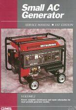 Small AC Generator Repair Manual Deere Generac Honda Robin Coleman Dayton GSM21