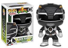📺 Funko POP! Television Power Rangers 361 Black Ranger Vinyl Figure Collectible