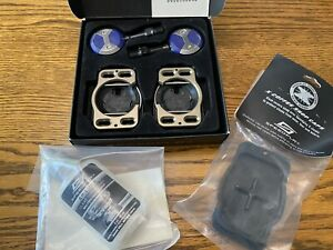 Speedplay Pedal System X 5 Chrome-Moly BLUE with Cleats, Lube, And Cleat Covers