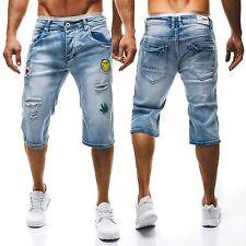 Kurze Herren-Shorts & -Bermudas aus Baumwollmischung mit Slim Fit