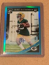 2018 Panini Jaire Alexander RC Rookie Auto #d 6/75 Blue PACKERS Green Bay🔥🔥