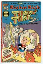 Richie Rich & Timmy Time #1 Sept 1977 Time Travel Harvey Key Issue 1970's 114