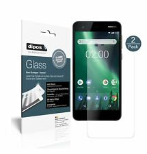 2x Nokia 2 Screen Protector matte Flexible Glass 9H dipos