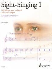 Sight-Singing Volume 1 A Fresh Approach Book New Schott 049012937