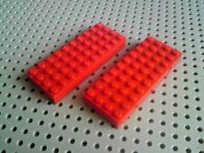 Lego Ladrillo 4x10 [6212] Rojo x2