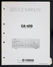 YAMAHA CA-610 Original Pre-Main Amplifier Service-Manual/Diagram o140