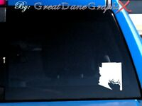 Arizona Elk Hunting State Vinyl Decal Sticker / Color - HIGH QUALITY