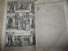 Les Fleurs des vies des saints et fêtes de l'année 1652 Ribadeneira gravures