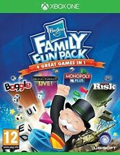 Xbox One 4 Games Hasbro Family Fun Pack With Monopoly Trivial Pursuit Risiko