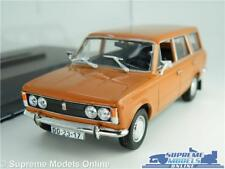 FIAT 125P ESTATE MODEL CAR 1:43 SCALE ORANGE + CASE IXO IST FSO LADA VAZ 2103 K8