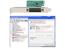 PCI-E to Parallel Port Card Print PCI Express LPT Printer Adapter Card
