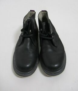Dr Martens Manton 2 holes Leather Boot Black Alsina Size 7 US M / 8 US L