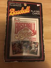 1993 Bicycle Aces Playing Cards Major League Baseball 53 FullColor Player Photos