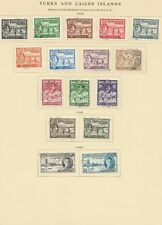 Turks and Caicos Islands used 1938-1949 on 2 pages