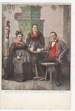 Badische Volkstrachten Kinzigthaeler Aus Nordrach U/B Postcard Germany 395a