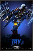The Lego Ninjago Movie poster - 11 x 17 inches - Lego poster - Jay
