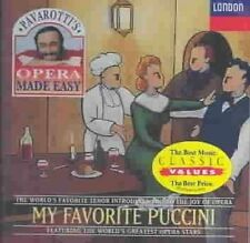 My Favorite Puccini 0028944381924 by Luciano Pavarotti CD