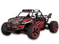 RC Sand Buggy X-Knight 1:18 4WD proportionales Gas inkl Akku und Ladegerät rot