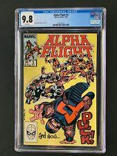 Alpha Flight #5 CGC 9.8 (1983) - Puck!