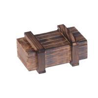 Kinder Puzzle Lernspielzeug Holz Magic Box Secret Holz Magic Schublade ZJAB