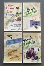 Jamie Oliver Jamies Garden Woolworths Sticker Various Mint Free Postage 5 For $4