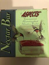 Nectar Bar Hummingbird Window Feeder