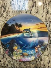Hamilton Collection Sanctuary of the Dolphin Enchanted Lot Of 4 Collector Plates
