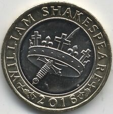 2016 William Shakespeare £2 Two Pounds Histories | Pennies2Pounds