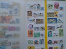 Birds Worldwide. Private sale of 39 different Stamps with some high Values.