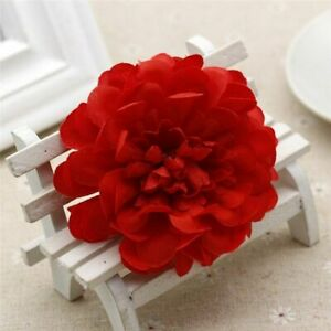 Flower Gardens Weddings Artificial Gerbera Flowers Heads Silk Daisy Fake 8Cm New