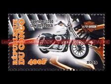 HARLEY DAVIDSON Sportster XL 1200 Low CONGO Timbre Poste Stamp Stempel Sello