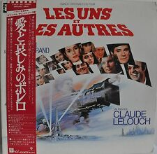 Le Uns Et Les Autres Soundtrack Francis Lai Michel Legrand Japan 2x gatefold LP