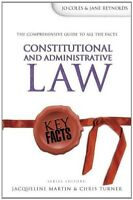 New, Constitutional and Administrative Law (Key Facts), Joanne Coles, Jane Reyno