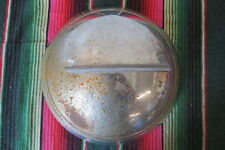 Vintage Single Bar Flipper Spinner Hubcap Wheel Cover Rat Hot Rod Custom SCTA