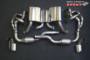 PORSCHE 911 996 TURBO fino al 2004 GT3 RS   SCARICO MILLEK COMPLETO COLLETTORI