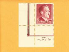 Nazi Germany MNH General Government Hitler Designer & Swastika Stamp Selvage A