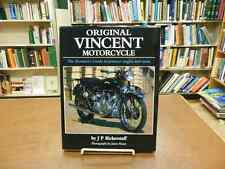 Original Vincent Motorcycle The Restorer's Guide By Bickerstaff Bikes History