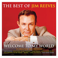 Jim Reeves BEST OF Welcome To My World 75 SONGS Collection NEW SEALED 3 CD