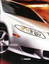 2003 03 Mazda 6  Series original sales brochure MINT