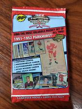 2006 Tristar Hidden Treasures Hockey 5 card pack lots