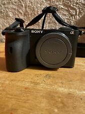 Sony Alpha a6600 24.2MP Mirrorless Camera - Black (Body Only)